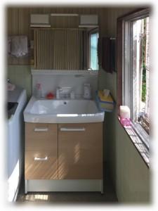 2.リフォーム後 洗面化粧台